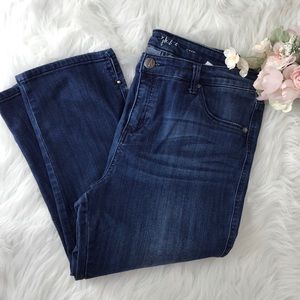 💕🌞Style & Co Stretch Denim Crop Jeans Size 12